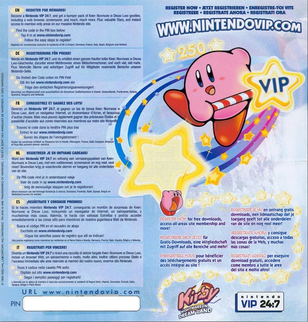 Code Nintendo ! Kirbynid
